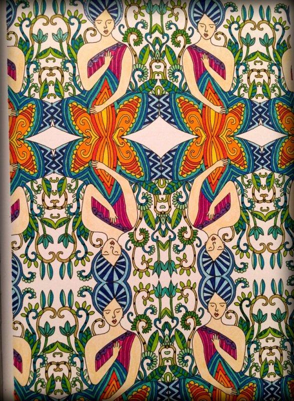 art th rapie r ves 100 coloriages pour s 39 endormir coloriage de lauryne coloriages. Black Bedroom Furniture Sets. Home Design Ideas