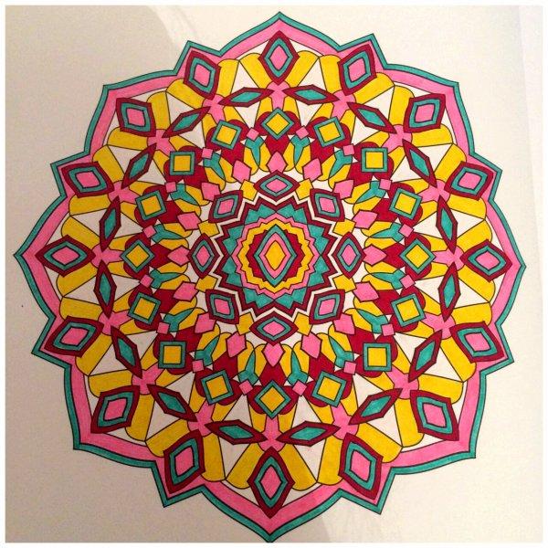 Mandalas art thérapie  Lauryne