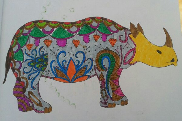 Art Therapie Animaux A Colorier Coloriage De Papa Coloriages