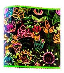 Art thérapie : le jardin en fête.  Coloriage de Nini