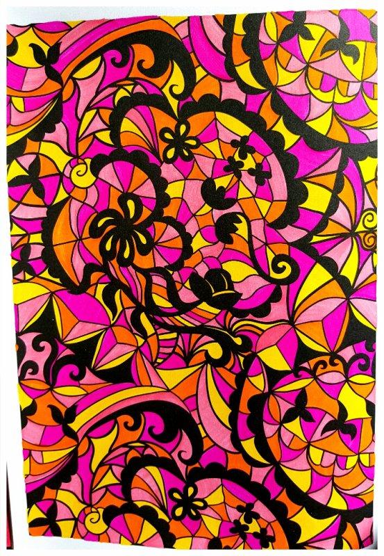 Art thérapie : 100 nouveaux coloriages anti stress.