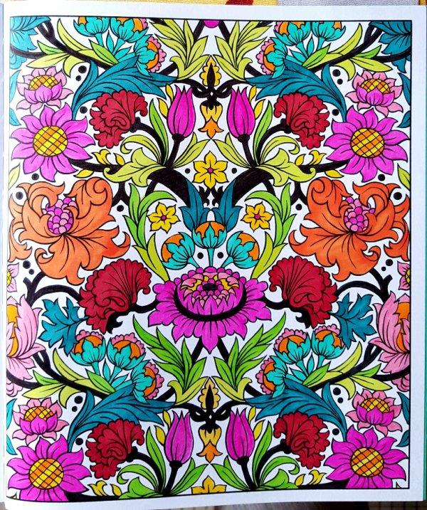 Partenariat Usborne : Motifs Arts & Crafts à colorier