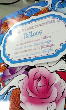 Art thérapie : tattoos. Coloriage de Nini
