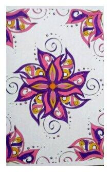 Art thérapie : tatoos. Coloriage de Nini
