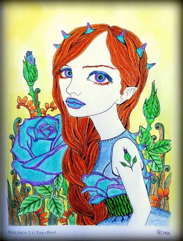 Inklings 2 by Tanya Bond. Rosa