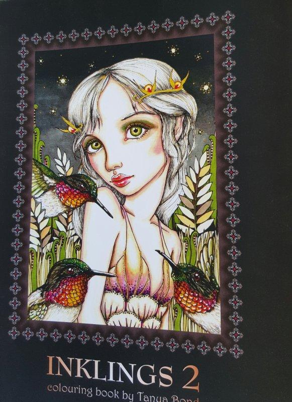 Art thérapie : inklings 2 by Tanya Bond