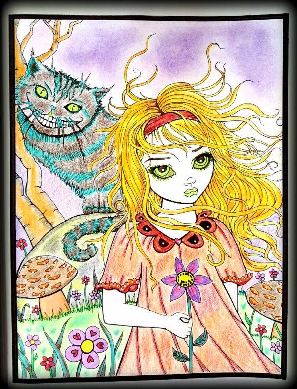 Art thérapie : mystical. Molly Harrison