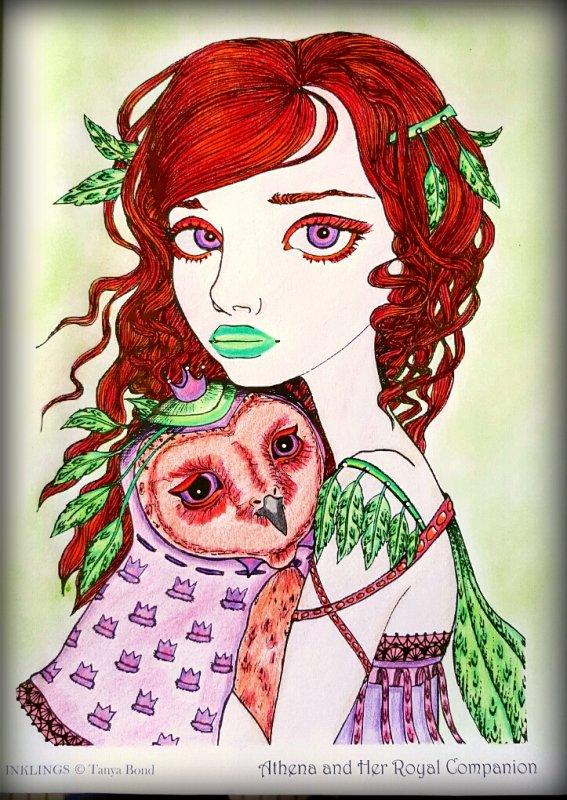 Art thérapie : inklings by Tanya Bond