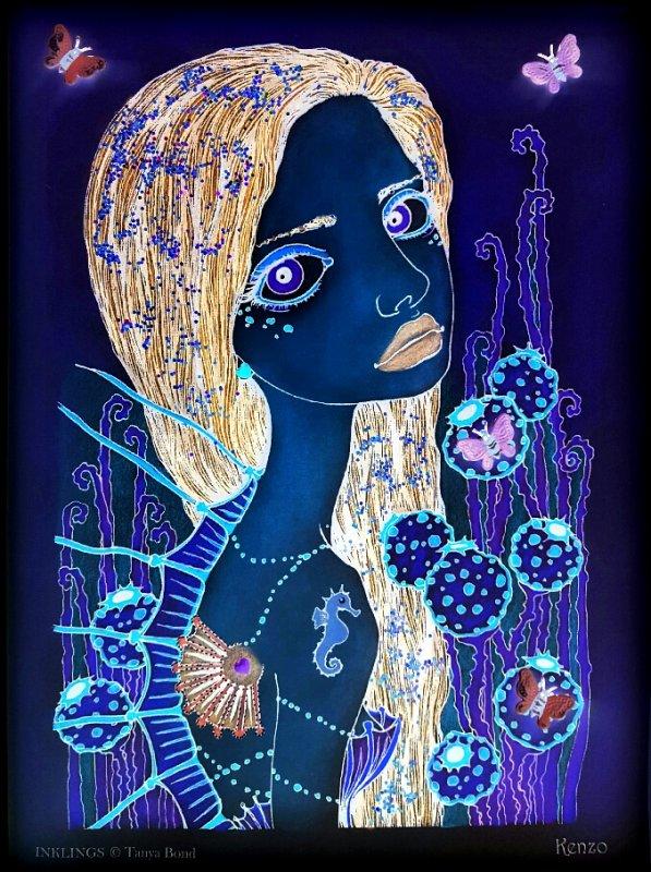Art thérapie : inklings by Tanya Bond. Kenzo