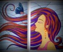 Art thérapie : coloriage mystère Nini.