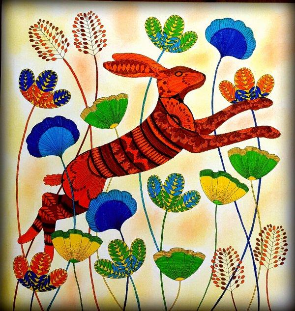 Art thérapie : animaux fantastiques.