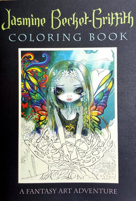 Art thérapie : a fantasy art adventure de Jasmine Becket-Griffith. The world