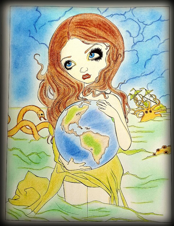 A fantasy art adventure de Jasmine Becket-Griffith. The world