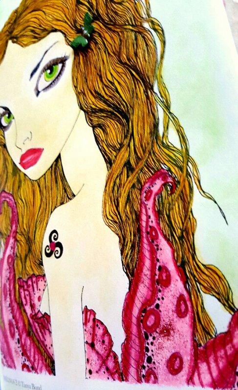 Inklings 2 by Tanya Bond. Luxuria
