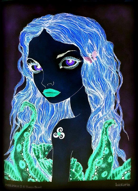 Art thérapie : inklings 2 by Tanya Bond. Luxuria