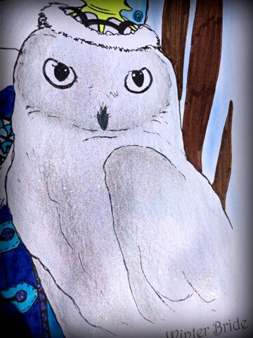 Art thérapie : inklings by Tanya Bond. Coloriage de Lauryne