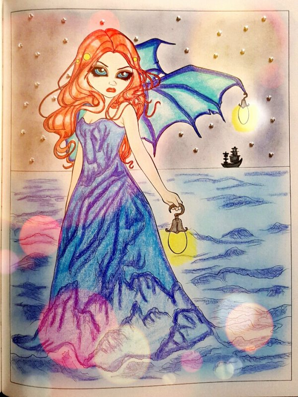 A fantasy art adventure.  Jasmine Becket-Griffith. Sea Beacon