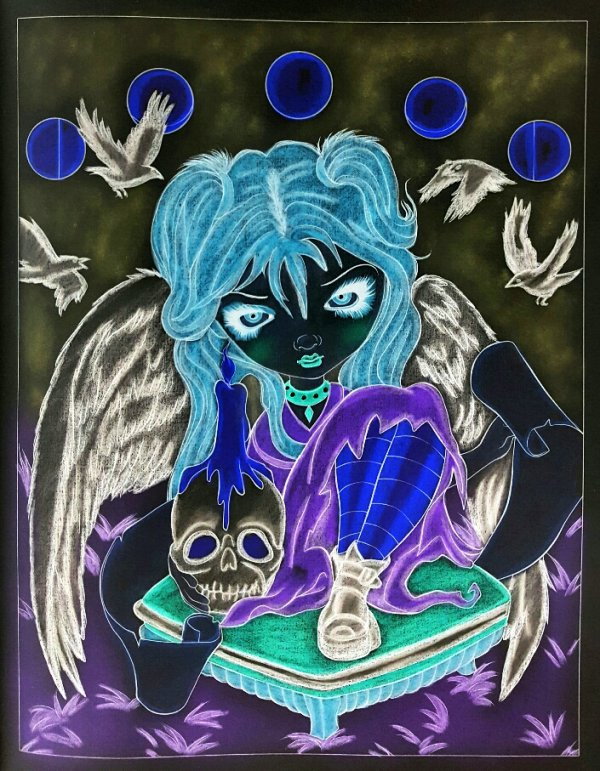 A fantasy art adventure.  Jasmine Becket-Griffith. Sign of our parting.
