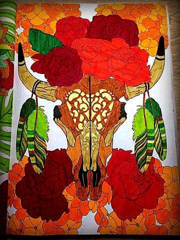 Fleurs 100 coloriages. Coloriage de  Lauryne