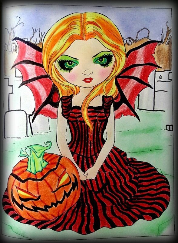 A fantasy art adventure de Jasmine Becket - Griffith.  Halloween twilight.