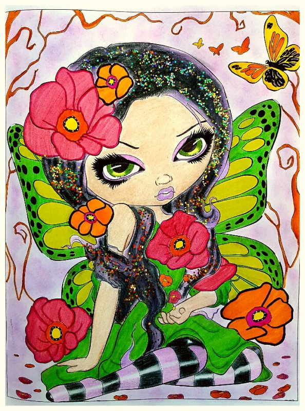 A fantasy art adventure de Jasmine Becket - Griffith.  Poppy Magic