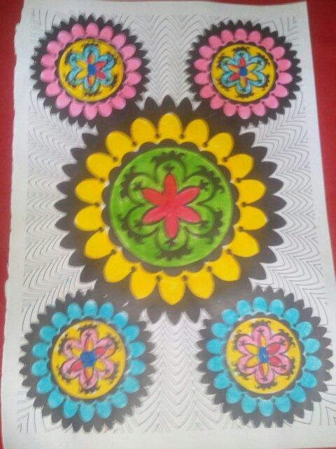 Coloriage de Mila.