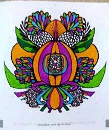 Mandalas zentangle. Coloriage de Nini