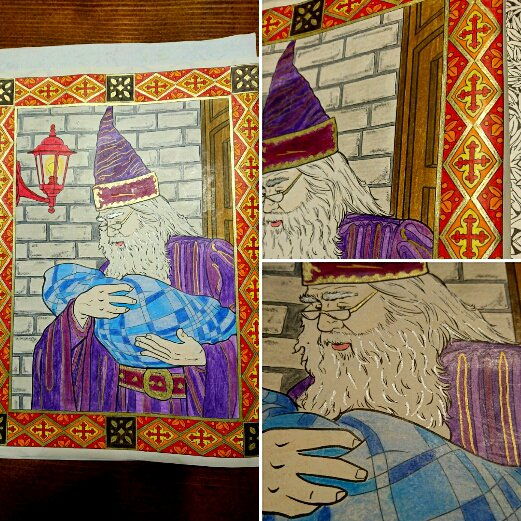 Harry Potter le livre de coloriage.  Coloriage de Lauryne