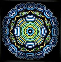 Kaleido color. Coloriage de Nini