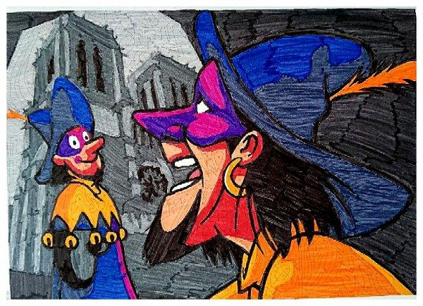 Coloriages mystères Disney. Colo de Lauryne
