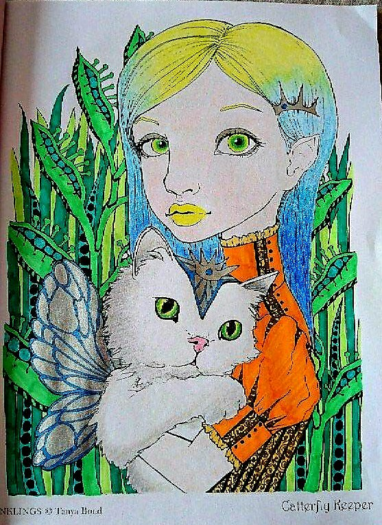Inklings by Tanya Bond. Coloriage de Lauryne