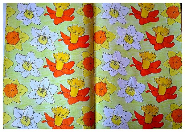 Printemps 100 coloriages.  Coloriage de Lauryne