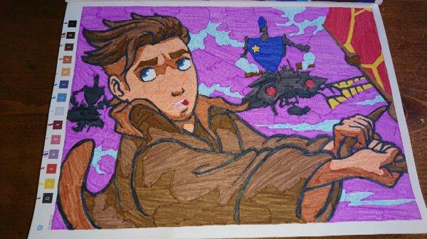 Coloriages mystères Disney.