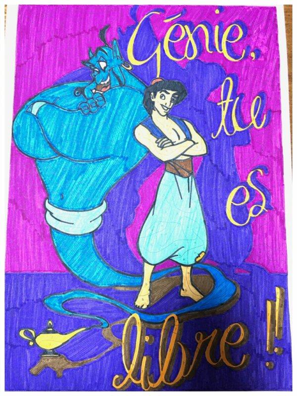 Coloriages mystères Disney. Coloriage de Lauryne