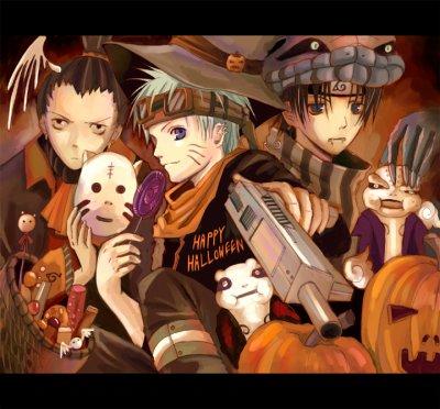 hallowen naruto