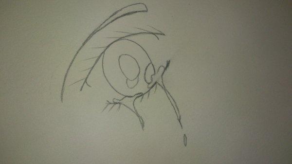 mon premier oeil que j'arrive a dessiné =D