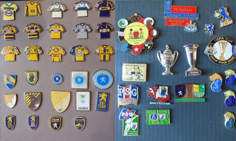 COLLECTION MAILLOTS FC SOCHAUX..........202