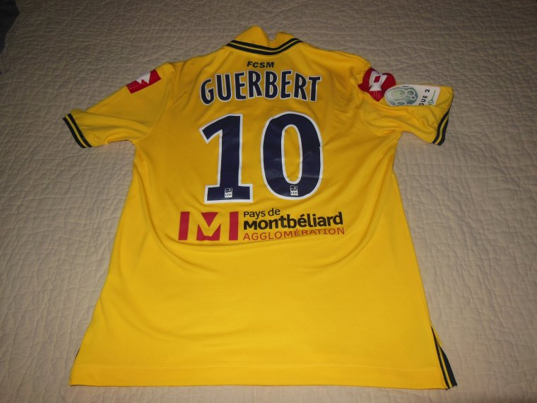 07/11/2014 FCSM-AJACCIO N°10 T.GUERBERT