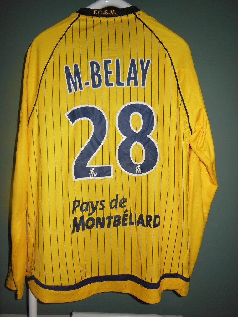 23/12/2009 FCSM-RENNES N°28 M.BELAY