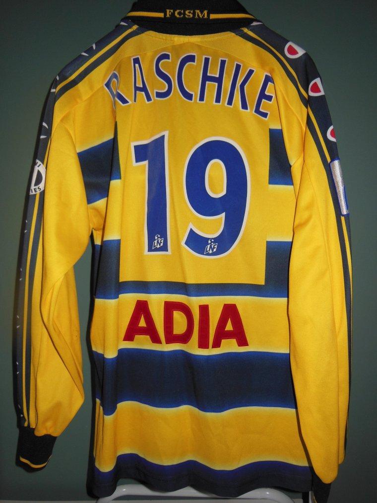 2001/2002 N° 19 P.RASCHKE