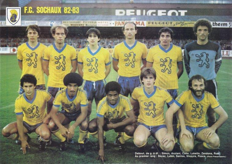 SAISON 82/83