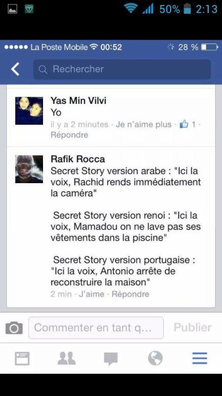 Secret story version...