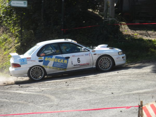 BRICOUT Christophe & DEVMY Eric SUBARU IMPREZA A8