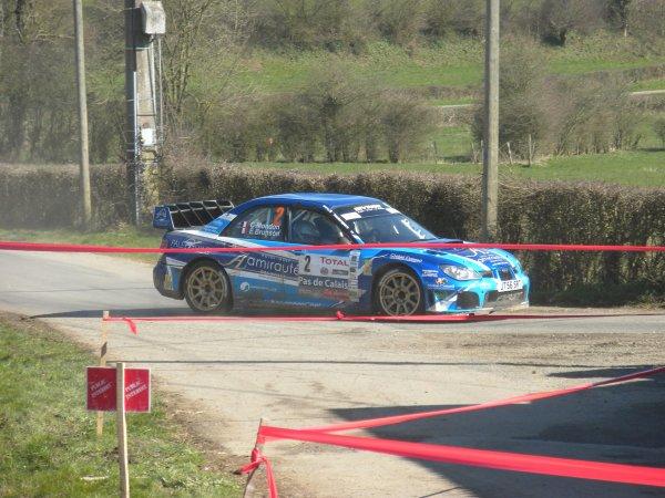 VICTOIRE D'Eric BRUNSON & Cédric MONDON IMPREZA WRC S12