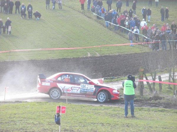 VANSON Johan & BRULE Antoine Mitsubishi Lancer Evo 6 N4
