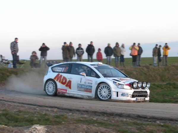 SNOBECK Dany & MONDESIR Gilles Citroën C4 WRC A 8W