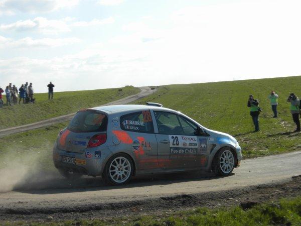 BARRAL Thomas & SEUX Sabrina et MAUFFREY Eric & HOUSSIN Gaëtan  Renault Clio R3 R R3