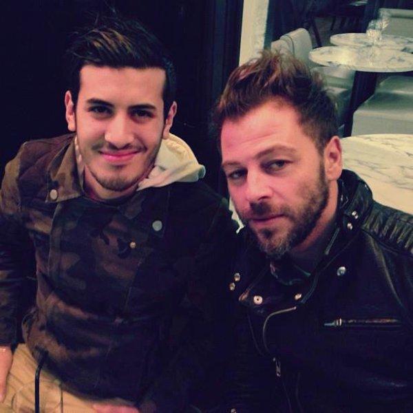 Chris avec Nabil Reyes
