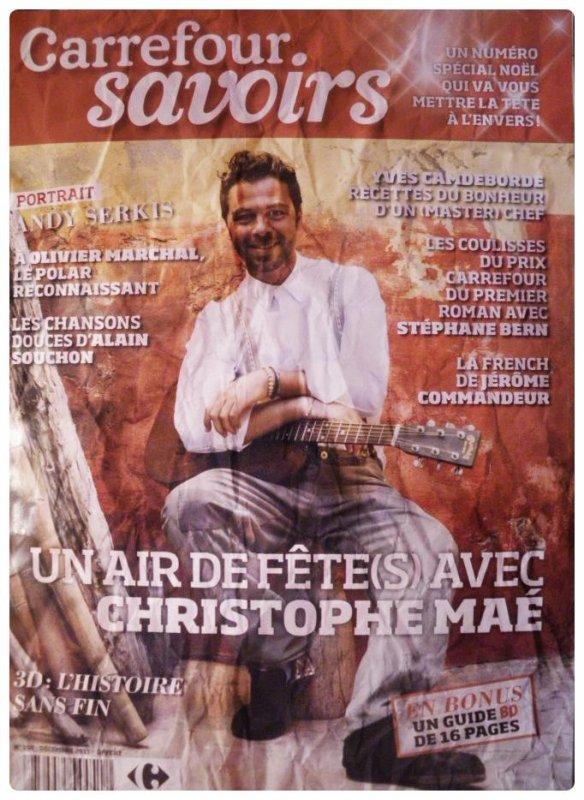 Sur les traces de Christophe Maé, carrefour savoirs, Décembre 2011