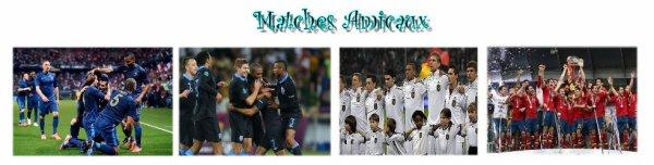 Matches Amicaux